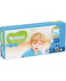 Huggies Ultra Comfort для мальчиков 4+ 10-16кг 68шт