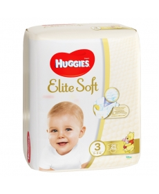 Подгузники Huggies Elite Soft (3) 5-9 кг 21 шт