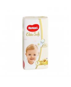 Подгузники Huggies Elite Soft (5) 12-22 кг 56 шт