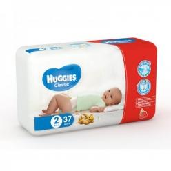 Huggies Classic 2 3-6 кг 37шт