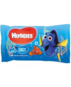 Huggies Влажные салфетки Elite Soft Disney Dory 56шт