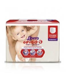 Libero Up&Go (5) 10-14кг 30шт