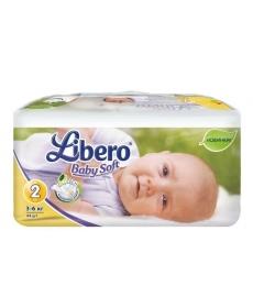 Libero Baby Soft EcoTech Mini 3-6кг 44шт