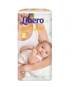 Libero Baby Soft EcoTech Mini 3-6кг 52шт
