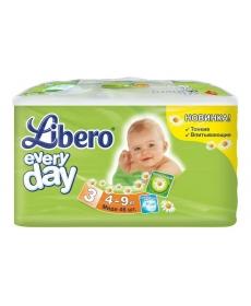 Libero Everyday Midi (3) 4-9кг 46шт