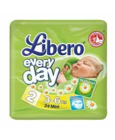 Libero Everyday Mini (2) 3-6кг 24шт