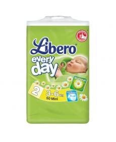 Libero Everyday Mini (2) 3-6кг 50шт