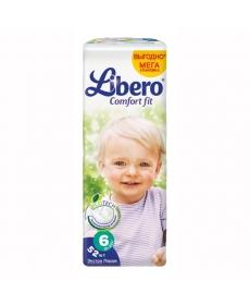 Libero Comfort Fit EcoTech Extra Large (6) 12-22кг 52шт