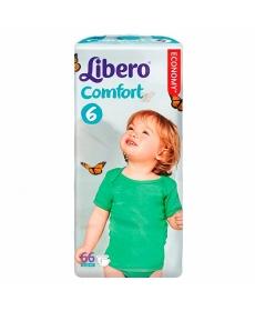 Libero Comfort Fit EcoTech Extra Large (6) 12-22кг 66шт