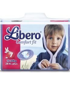 Libero Comfort Fit EcoTech Extra Large (7) 15-30кг 28шт