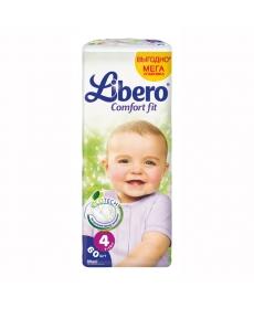 Libero EcoTech Comfort Fit Maxi (4) 7-14кг 60шт