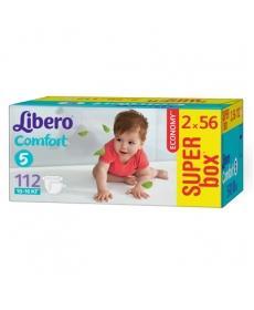 Libero Comfort Fit EcoTech Maxi Plus 10-16кг 112шт
