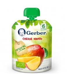 Gerber пюре Органик Манго 90г