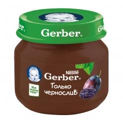 Gerber пюре 80г Чернослив