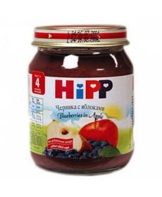 HIPP Пюре 125г Черника/Яблоко