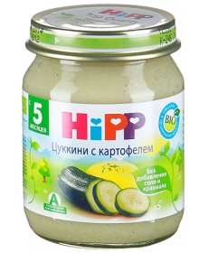 HIPP Пюре 125г Цуккини/Картофель