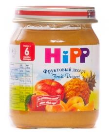 HIPP Пюре 125г Фруктовый десерт