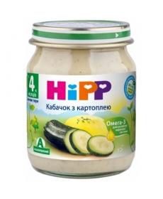 HIPP Пюре 125г Кабачок с картофелем