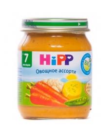 HIPP Пюре 125г Овощное Ассорти