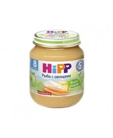 HIPP Пюре 125г Рыба/Овощи