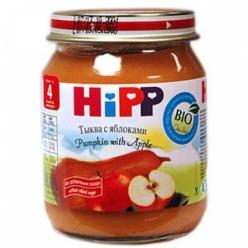 HIPP Пюре 125г Тыква/Яблоко