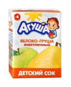 Агуша Сок Яблоко/Груша 200мл