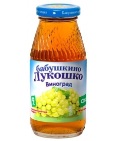 Бабушкино Лукошко 200мл Сок Виноград Осветлённый