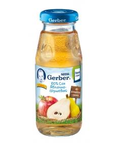 Gerber сок Яблоко/Груша 175мл