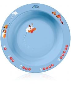 Avent Глубокая тарелка большая 12м+