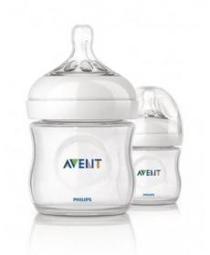 Avent Бутылка для кормления 125мл Natural 2 шт