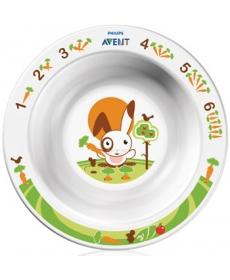 АВЕНТ Глубокая тарелка малая 6 м+