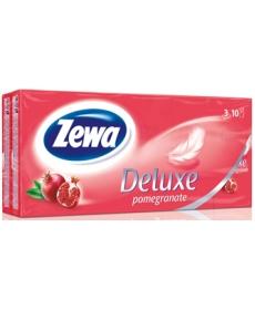 Платки Носовые Zewa Deluxe Kids Гранат 3 слойные