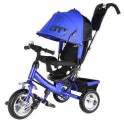 """Детский трёхколесный велосипед """"CITY"""" синий JW7BS"""