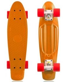"Скейтборд Fish, размер 22""*6"", колеса: 60*45мм  78 - Оранжевый"