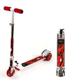 Скутер (100% легкосплавный трехколесный), красный CV