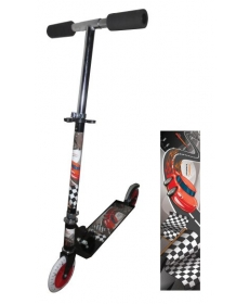 Скутер Ралли,125мм PVC ,(80%легкосплав.,20%сталь)
