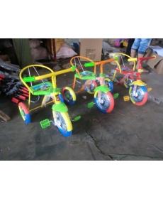 Велосипед 3-х колесный желтый с зеленым 9050972-2