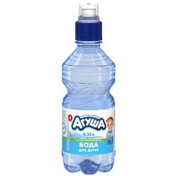 Агуша вода 0,33л для детей