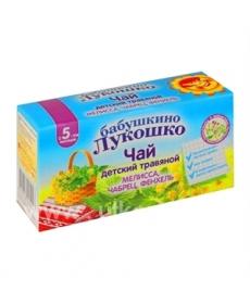 Бабушкино Лукошко Чай 20г Мелисса/Чабрец/Фенхель