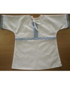 Рубашечка крестильная Эльф - 190204 - 44 р-р/74