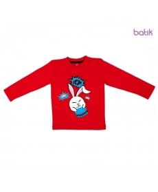 Batik Футболка для мальчика длинный рукав в ассортименте, Размер: 98