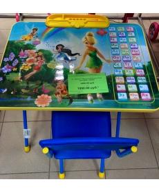 Комплект Disney 2 -Феи (Стол+Пенал+Мягкий Стул)