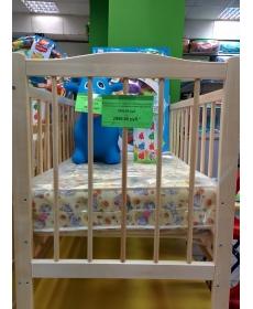 Кроватка детская  Марина-3 (колесо, качалка, опуск