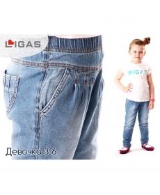 Ligas Джинсы детские для девочки 2143-24/98