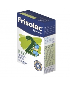 Friso Frisolac 2 сухая молочная смесь с 6 месяцев 350 грамм