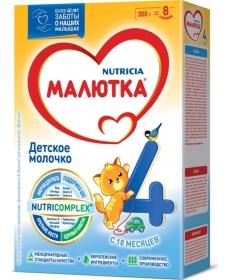 Малютка 4 Смесь 300г Nutricia