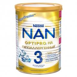 Nestle NAN 3 Гипоаллергенный - молочная смесь 400г