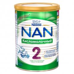Nestle NAN 2 Кисломолочный - молочная смесь 400г