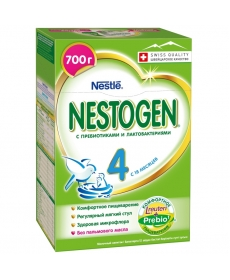 Nestle Nestogen 4 молочная смесь 700г