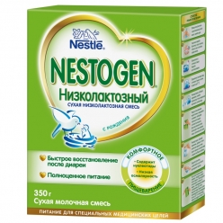 Nestle Nestogen Низколактозный 350г